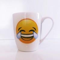 Gülen Yüz Emojili Kupa Bardak