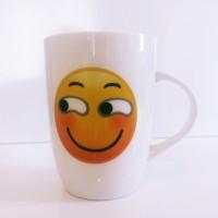 Yan Bakan Emojili Kupa Bardak