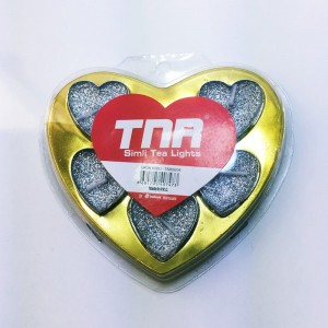 Simli Kalpli Mum 6'lı Paket