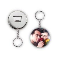 Kişiye Özel Fotoğraflı Anahtarlık Açacak Magnet