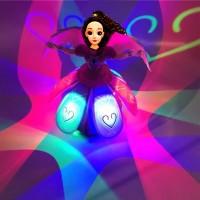 Toptan Oyuncak Dans Eden Dönen Işıklı Bebek Müzik Kutusu