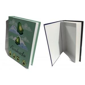 Avokado Kitap Tasarımlı Hediye Kutusu