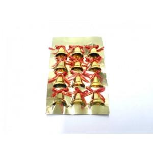 Gold Renk Çam Ağacı Süsleri 12 Adet