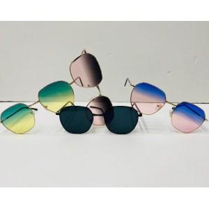 İki Renkli Unisex Güneş Gözlüğü