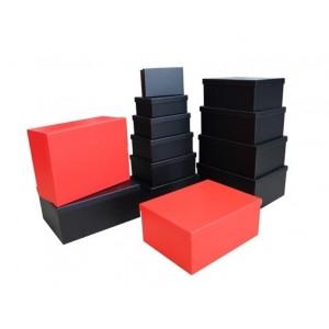 Kırmızı Siyah 10'lu Hediye Kutuları