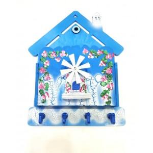 Marin Ev Şeklinde Anahtar Askılığı