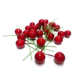 Minik Kırmızı Yılbaşı Süsleme Çiçekleri 300'lü