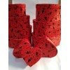 Toptan 10 lu Kırmızı Kalp Hediye Kutusu