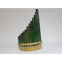 Toptan 12 Notalı Bambu Pan Flüt Müzik Aleti