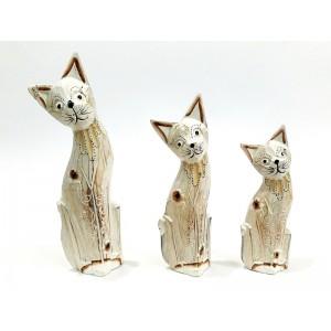 Toptan 25 cm lik 3 lü Kedi Bibloları