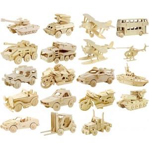 Toptan Ahşap 3D Maket Puzzle