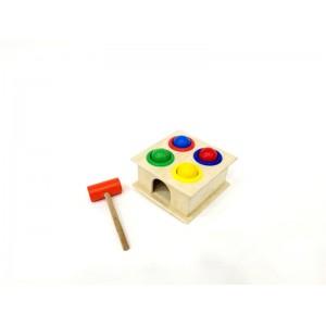 Toptan Ahşap Çekiç Oyunu Hammer Case