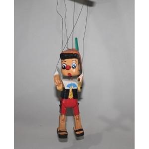 Toptan Ahşap Pinokyo Oyuncak 20 cm