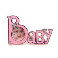 Toptan BABY Yazılı Bebek Çerçevesi
