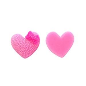 Toptan Bebek Şekeri Süsleme Malzemesi Plastik Kalp İnci 100 ADET