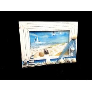 Toptan Beyaz Deniz Konseptli Marin Fotoğraf Çerçevesi 6'x4'