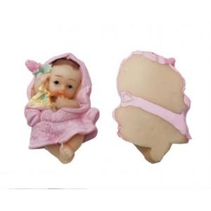 Toptan Bir Yaş Doğum Günü Hediyesi Bebek Magnet Biblo