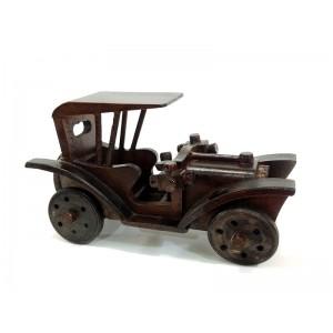 Büyük Boy Nostaljik Ahşap Araba