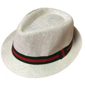 Toptan Çizgili Erkek Fötr Şapka Kombinleri 4