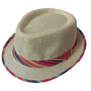 Toptan Çizgili Hasır Bay Bayan Fötr Şapkalar
