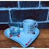 Toptan Damat Kahve Fincanı 3 lü Set