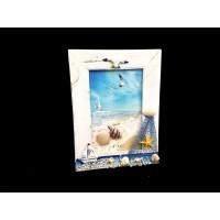 Toptan Deniz Fenerli ve Martı Figürlü Yatay Dikey Küçük Çerçeve