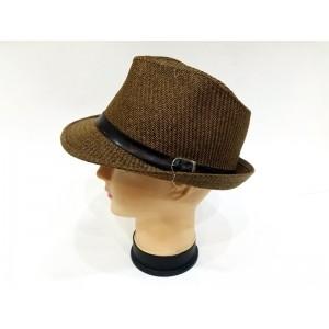 Toptan Deri Kemer Aksesuarlı Erkek Kovboy Şapkası 3N