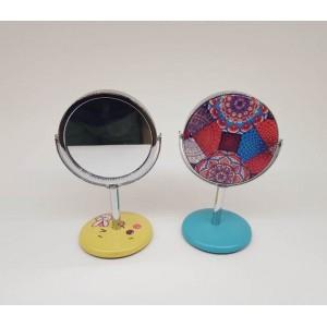 Toptan Desenli Ayaklı Ayna