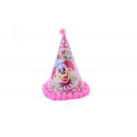 Toptan Doğum Günü Parti Malzemeleri Palyaço Desenli Şapka