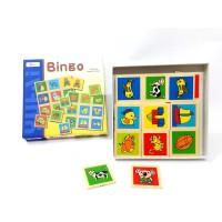 Toptan Eğitici Ahşap Oyuncaklar Hafıza oyunu Memo Çocuklar İçin Bingo