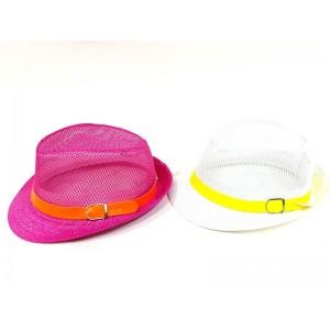 Toptan Fosforlu Renkli 2017 Yazlık Çocuk Şapkaları 5M