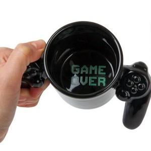 Toptan Game Over Joystick Oyun Kolu Kupa Bardak