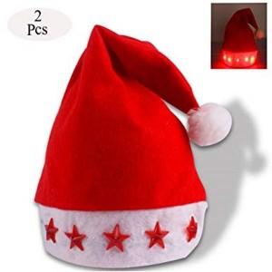 Toptan Işıklı Yılbaşı Şapkası