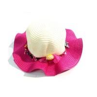 Toptan Kaliteli Yazlık Kız Çocuk Hasır Şapka