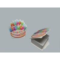 Toptan Kappy Birthday Yazılı Plastik Kutu