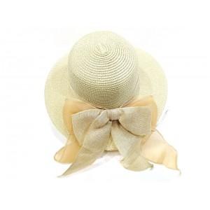 Toptan Keten Kurdelalı Yazlık Hasır Şapka 2A