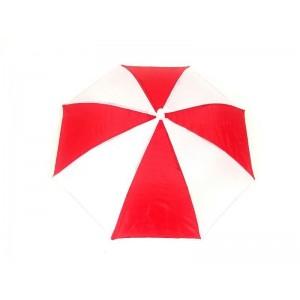 Toptan Kırmızı Beyaz Gösteri Şemsiyesi