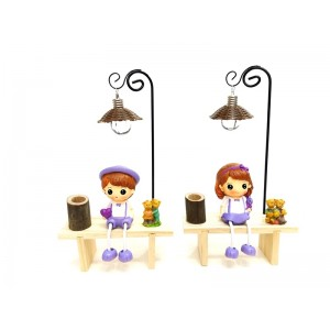 Toptan Kız Erkek Işıklı Masa Üstü Lamba
