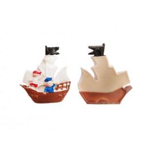 Toptan Korsan Kaptan Gemi Şeklinde Bebek Şekeri Biblosu