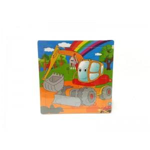 Toptan Küçük Boy Ahşap Çocuk Puzzle
