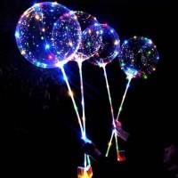 Toptan Led Işıklı Şeffaf Balon