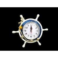 Toptan Masa Üstü Gemi Dümeni Şeklinde Marin Saat