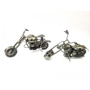 Toptan Metal Motosiklet Şeklinde Biblolar
