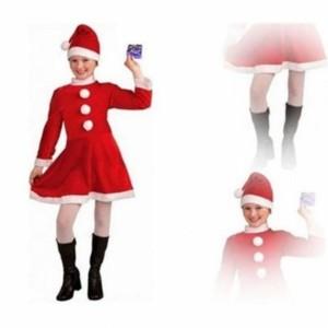 Toptan Noel Anne Kostümü