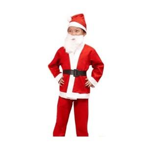 Toptan Noel Baba Çocuk Kıyafeti 10-13 Yaş