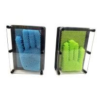 Toptan Pin Art 3 D Renkli Plastik Çivi Sanatı