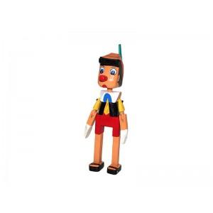 Toptan Pinokyo Ahşap Oyuncak 35 cm