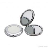 Toptan Promosyon Boş Çelik Cep Aynası