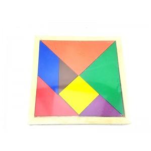 Toptan Renkli Ahşap Tangram