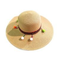 Toptan Renkli Ponponlu Yazlık Bayan Şapka Çeşitleri